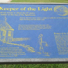 Liked this sign near the Concord Point lighthouse and keeper's house in Havre de Grace.