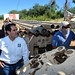 Guillermo Padrés estuvo presente en la perforación de nuevos pozos. por Guillermo Padrés Elías