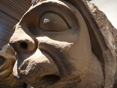 carving, art, gargoyle, sculpture, head,