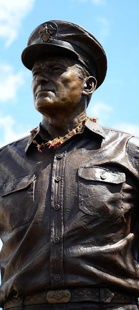 Header of Admiral Nimitz