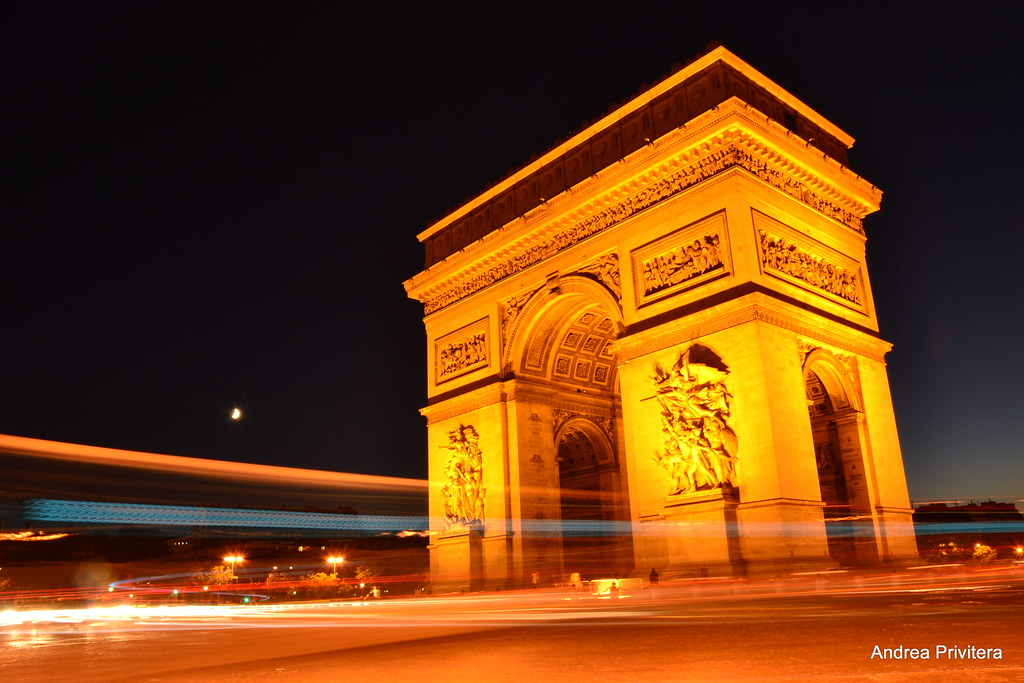 30 seconds on Arc  de Triomphe