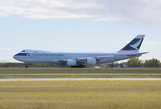 Cathay Pacific Cargo Boeing 747-867F