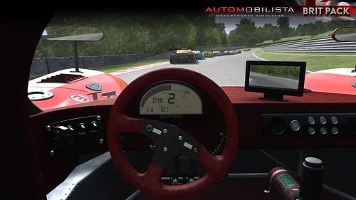 Automobilista Ultima GTR Cockpit