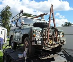 Land Rover S3 + A frame