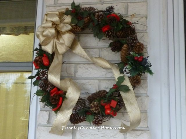 Christmas Wreaths ~ From My Carolina Home