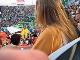 صورة Copacabana قرب Vila Militar Copacabana - VMC - Exército - Army. rio 2016 jogos olímpicos de verão olympische sommerspiele summer olympic juegos río janeiro riodejaneiro brasil brazil games xxxi olympiad arena copacabana vôlei praia stadium beach volleyball stadion