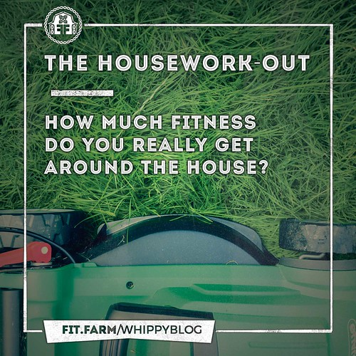 THE HOUSEWORK-OUT! HOW MUCH FITNESS DO YOU REALLY GET AROUND THE HOUSE?