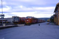Early morning - NSB BM 92.06 & Di3.630