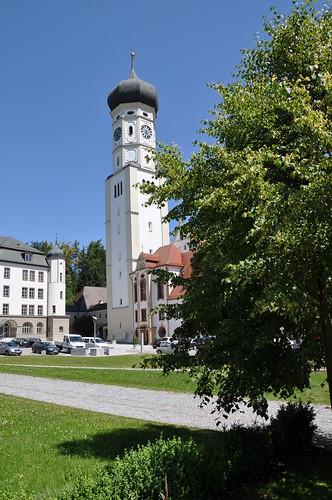 Kirchturm Ursberg
