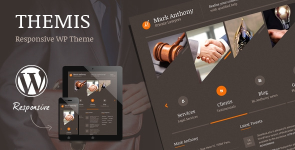 Themis v4.0 – Responsive Law Business WordPress Theme