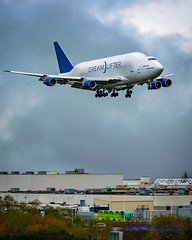 8x10 of Dreamlifter on Short Final to KPAE