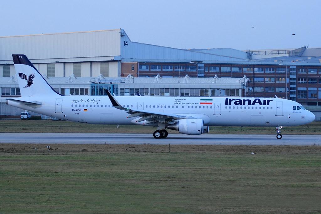 EP-IFA - A321 - Iran Air