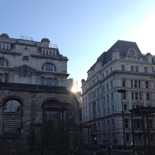 Early morning in the City #london #nofilter #sunshine