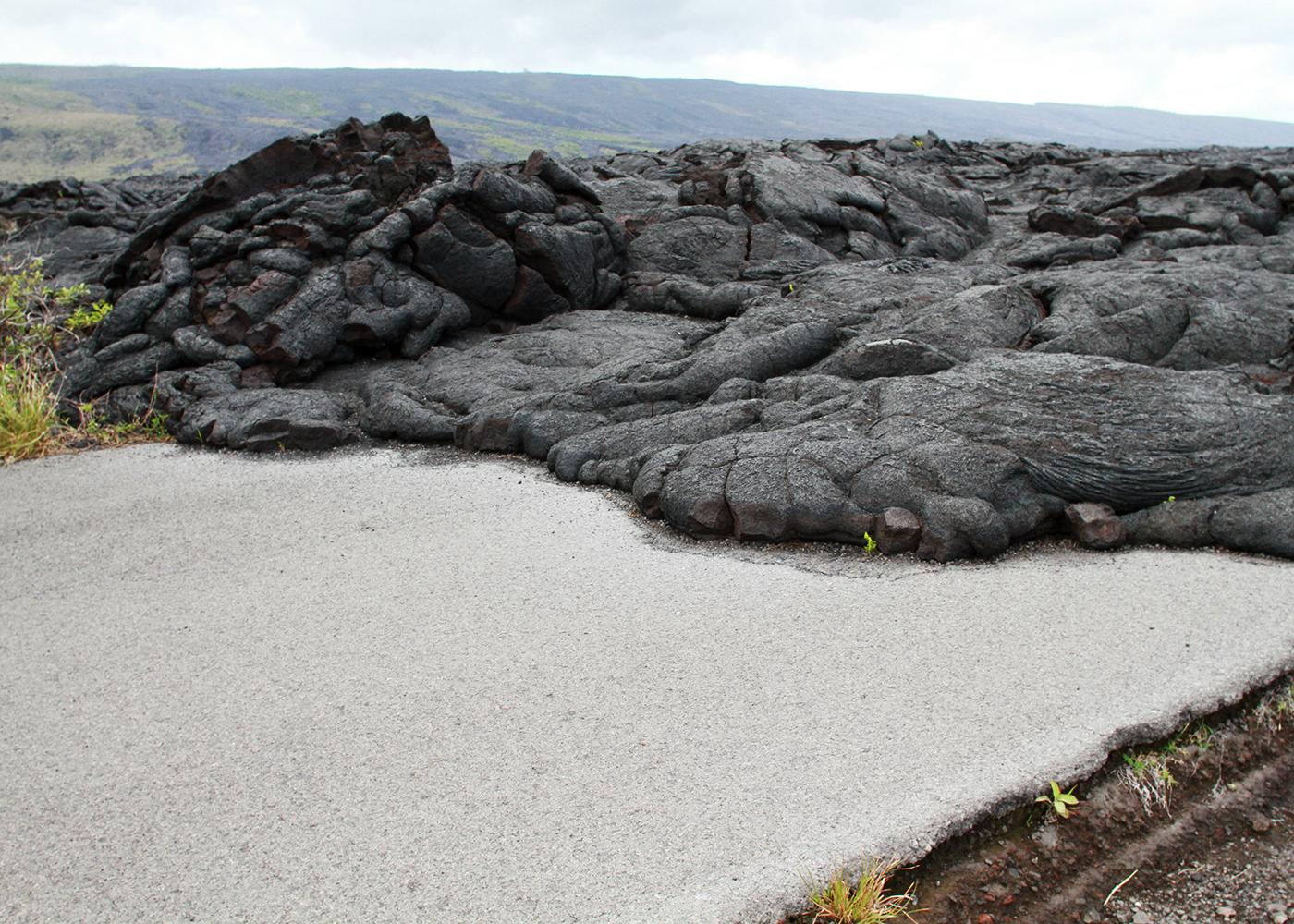 Lava Meets Road