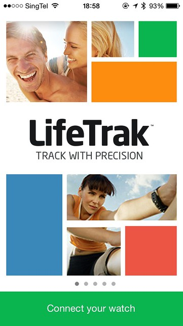 LifeTrak iOS App - Splash Screen
