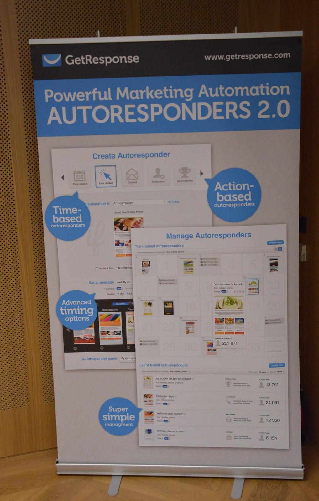 Roll-up banner Autoresponder