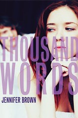 Thousand Words by Jennifer Brown book cover.