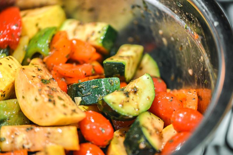 Balsamic Marinated Vegetable Kebabs