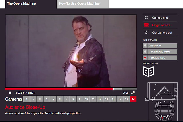 The Opera Machine, a new interactive experience allowing you to see backstage at the opera © ROH 2014