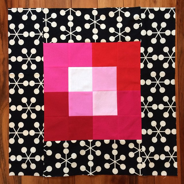 Pillow in progress - Canvas pattern