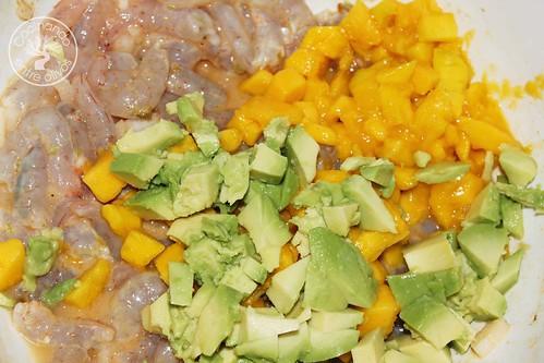 Cebiche de gambas www.cocinandoentreolivos.com (1)
