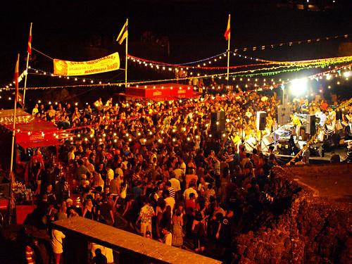 La Sardinada, July Fiestas, Puerto de la Cruz, Tenerife