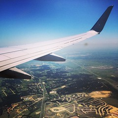 #upintheair #texas #sky #flying #airplane #american#dtw