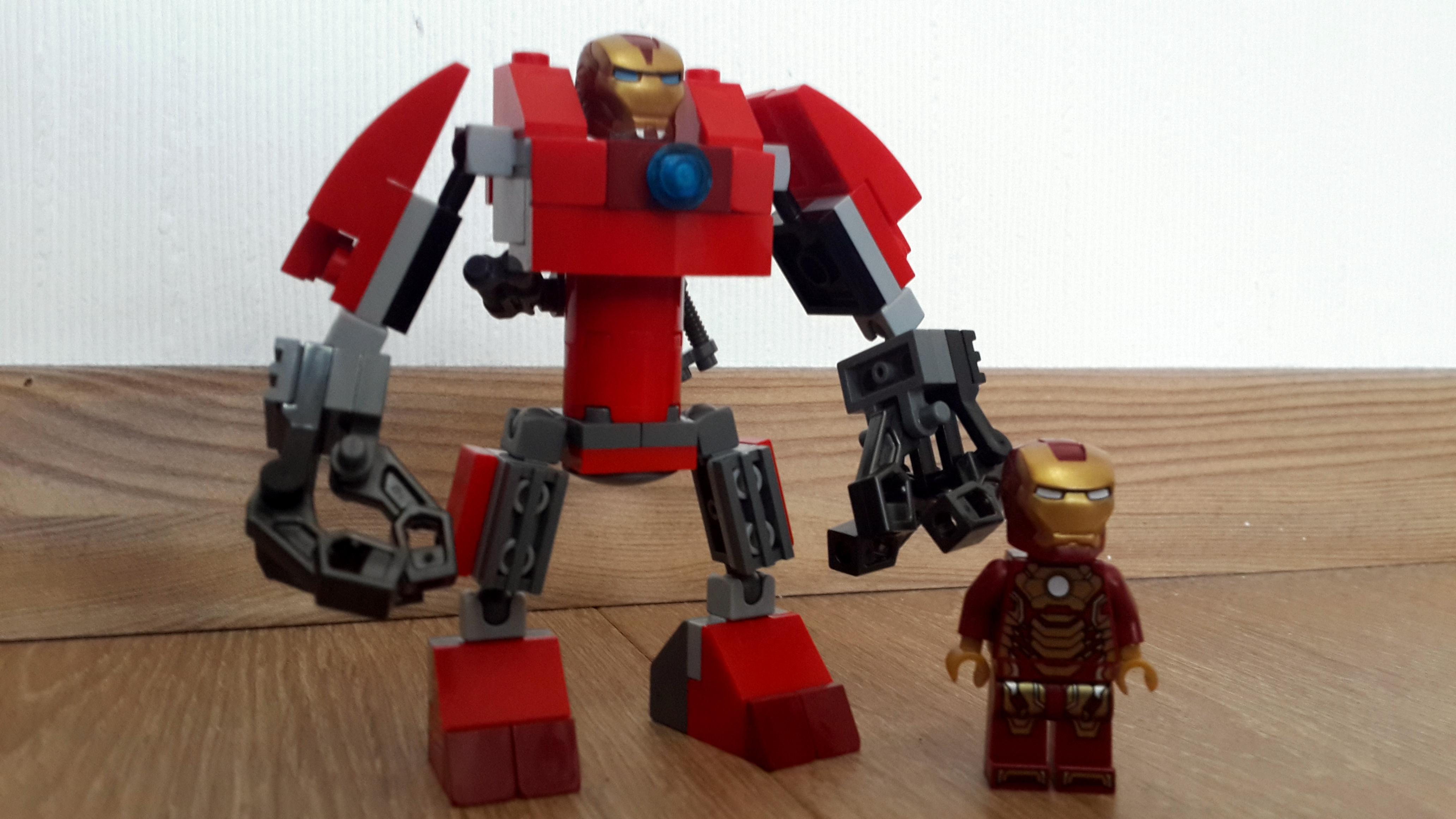 Lego hulkbuster iron man flickr photo sharing