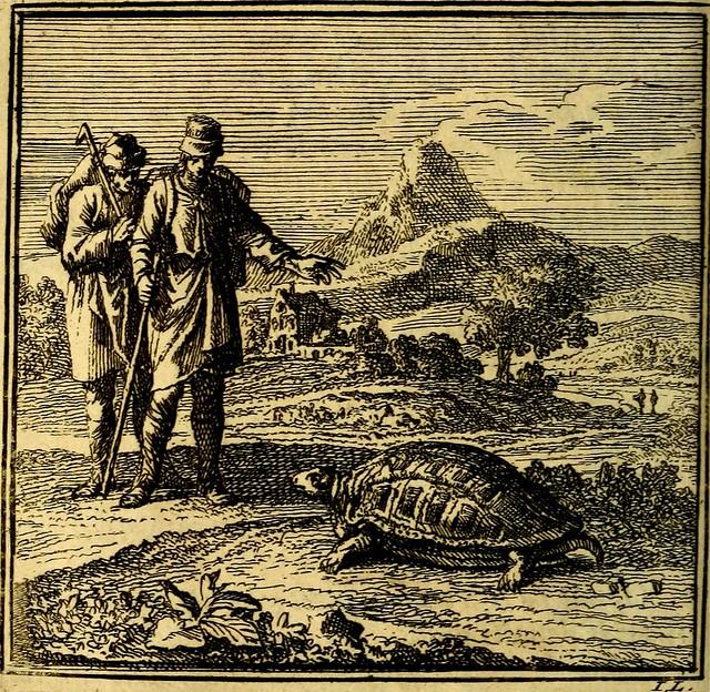 """Image from page 41 of """"De Bykorf des Gemoeds : Honing zaamelende uit allerley Bloemen"""" (1711)"""