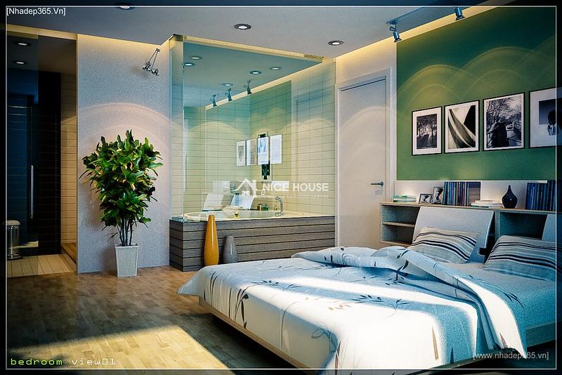 Thiết kế nội thất chung cư M5 - Anh Hoàn_6