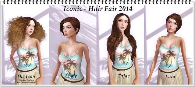 Iconic - Hair Fair 2014