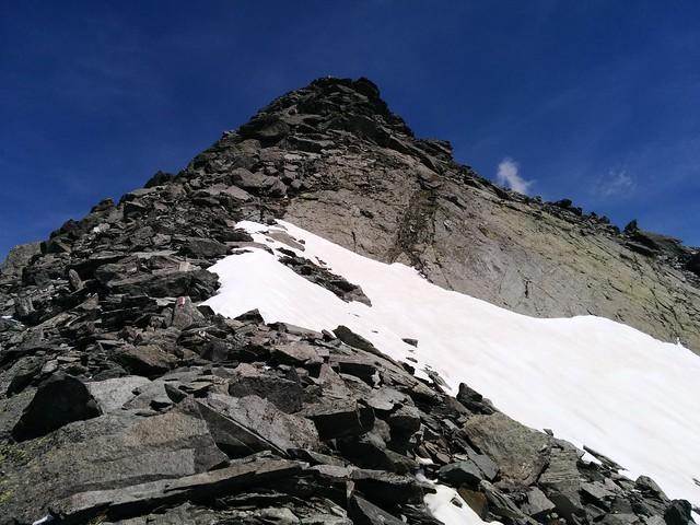 Gipfelanstieg Großer Moosstock, Tauferer Ahrntal