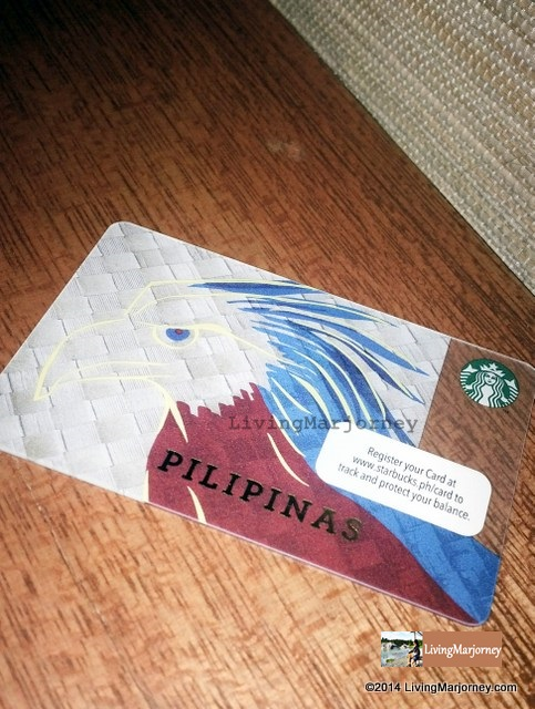 Philippine Eagle Starbucks Card