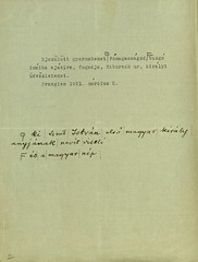 034. IV. Károly levele Csernoch János esztergomi érseknek