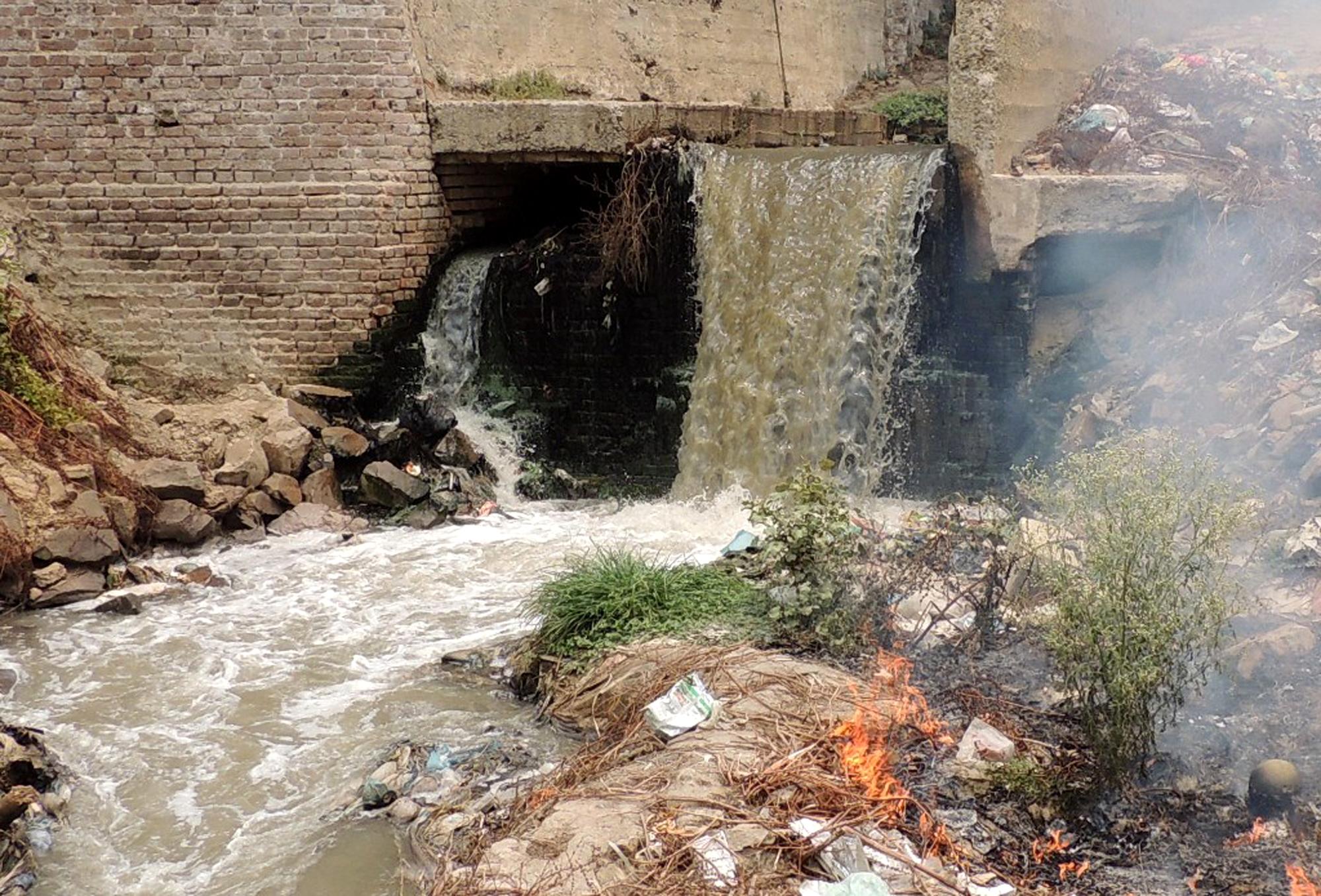 गंगा में बढ़ रहा प्रदूषण
