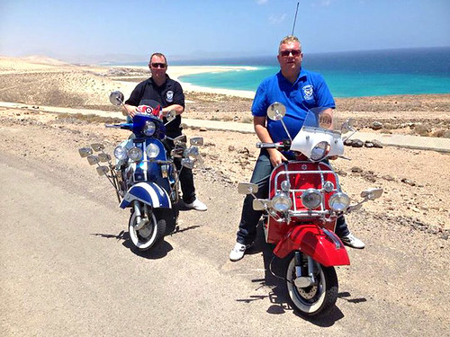 Scooters, Los Cristianos