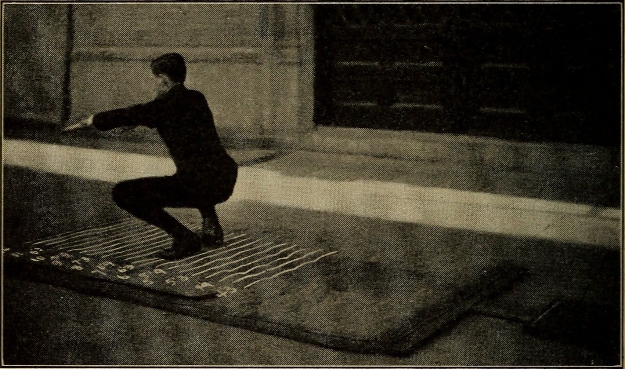 Figure from the book New rational athletics for boys and girls (1917) in the [Internet Archive Book Images](https://www.flickr.com/photos/internetarchivebookimages/14597595828/)