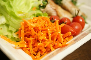 にんじんのラペサラダ