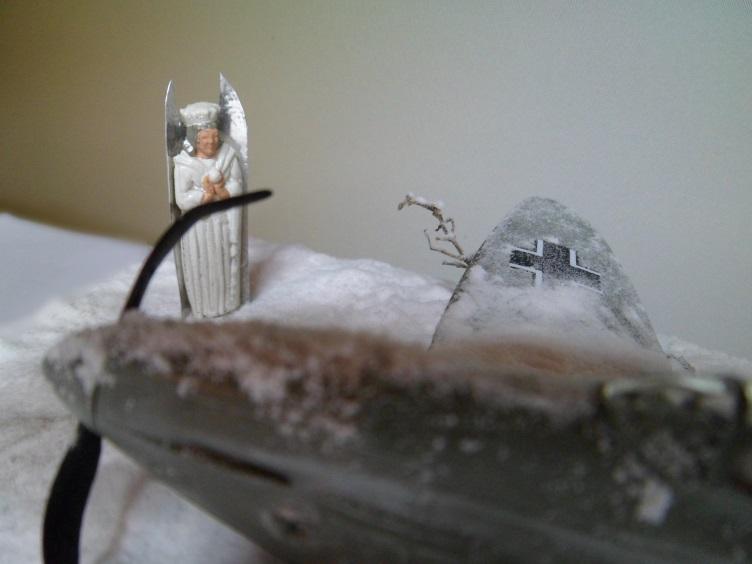 La Dame de la neige [Heinkel 112 B Heller 1/72] 14657109326_7eaf298200_o