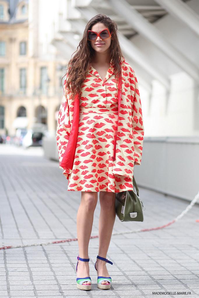 Cosima Ramirez at Paris Fashion Week Haute Couture