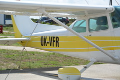 airline, aviation, airplane, wing, vehicle, cessna 172, ultralight aviation,