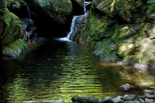 green waterfall pentax connecticut newengland ct k3 2014 vbd naugatuckstateforest smcpentaxda55300mmf458ed sprucebrookfalls pentaxk3 summer2014