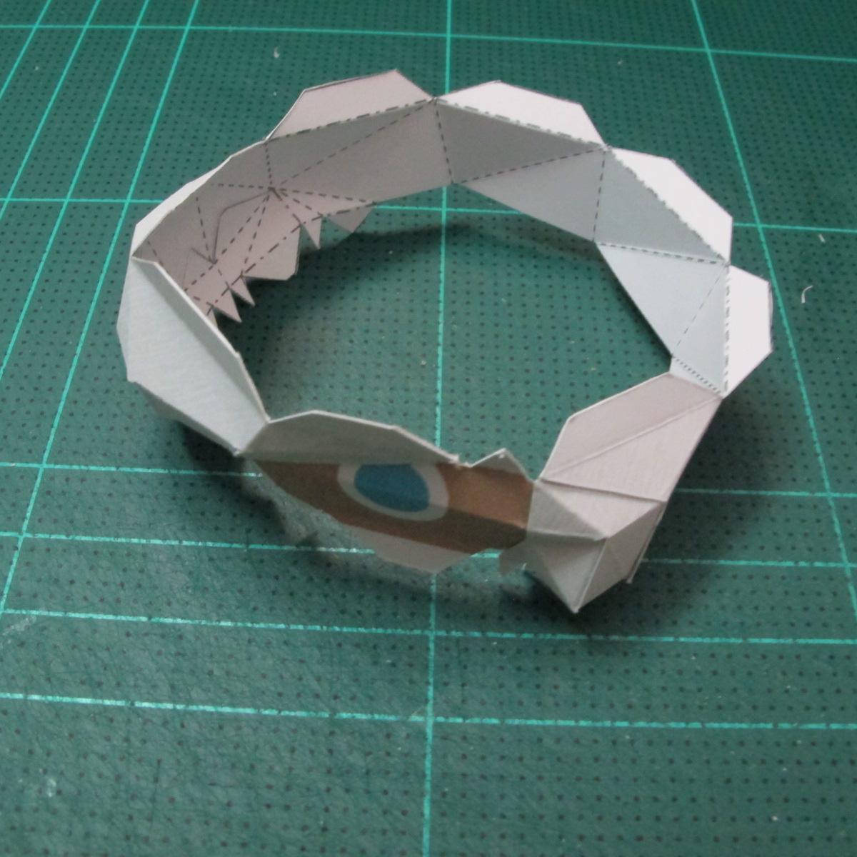 วิธีทำโมเดลกระดาษของเล่นคุกกี้รัน คุกกี้รสพ่อมด (Cookie Run Wizard Cookie Papercraft Model) 007