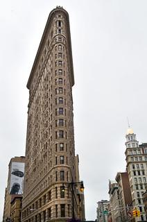 Image of Flatiron Building near City of Hoboken. leica newyorkcity architecture manhattan flatironbuilding leicax2