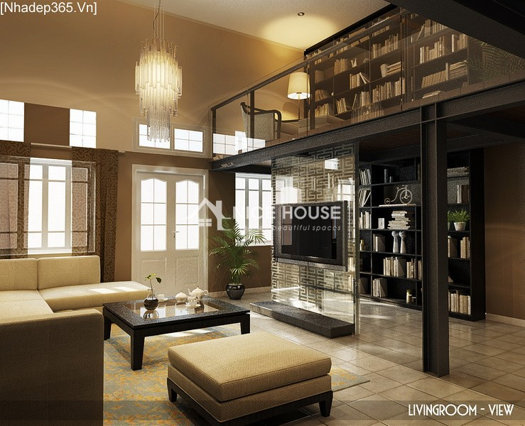 Thiết kế nội thất căn hộ Hàng Trống - Hà Nội_04