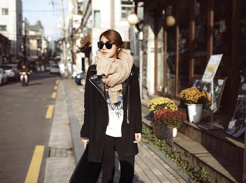 Cách quàng khăn ĐẸP như Hàn Quốc cho Nam/Nữ mà đơn giản 12