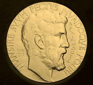 The Fields medal obverse
