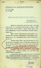 008. A budapesti m. kir. Államrendőrség főkapitányának értesítése a Magyar Miniszterelnökség számára a koronázás alatti biztonsági szabályokról
