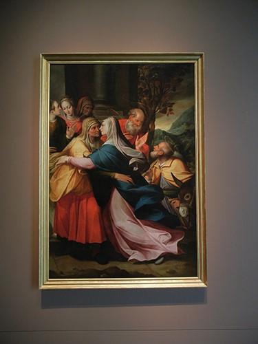 DSCN1201 _ The Visitation, c 1602, Camillo Procaccini, Blanton Museum, Austin