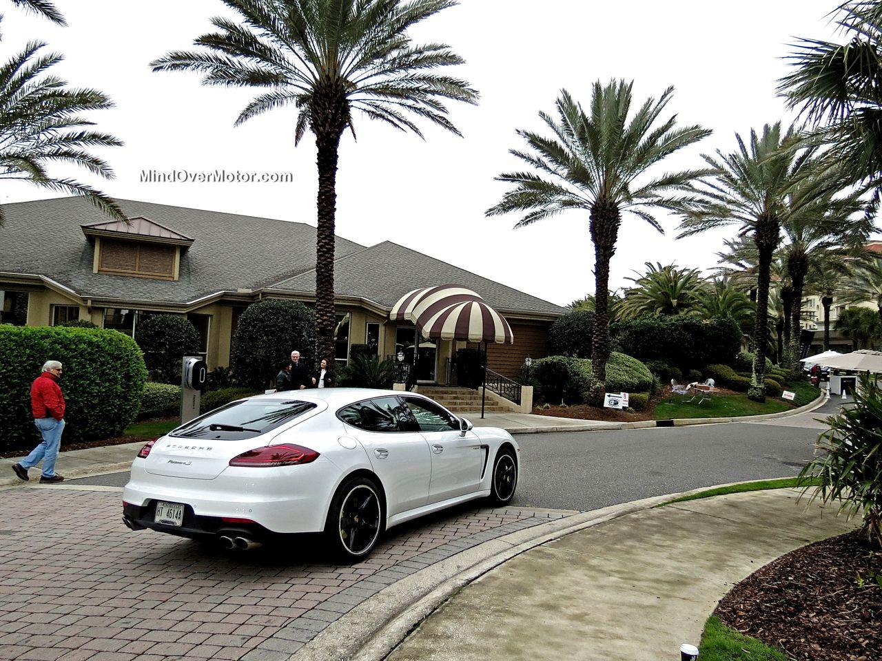 Porsche Panamera S E-Hybrid Rear View